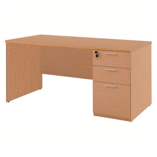 โต๊ะทำงาน สีบีช เฟอร์ราเดค ST150PDC3