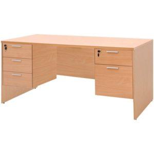 โต๊ะทำงาน สีบีช เฟอร์ราเดค ST165DB+SDA