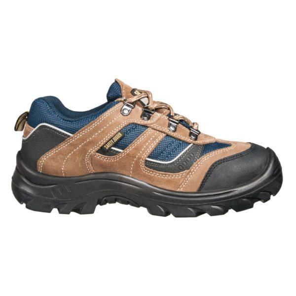 รองเท้านิรภัย 43 น้ำตาล เซฟตี้ โจ๊กเกอร์ X2020P S3