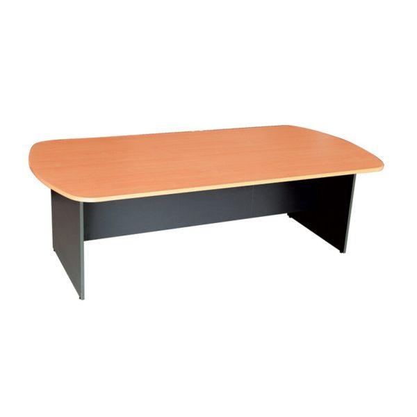 โต๊ะประชุม สีบีช-เทาดำ เฟอร์ราเดค SMT200