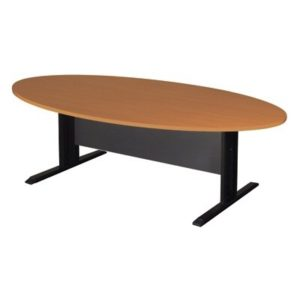 โต๊ะประชุม สีเชอร์รี่-เทาดำ เฟอร์ราเดค KMTE-180