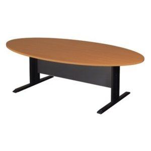 โต๊ะประชุม สีเชอร์รี่-เทาดำ เฟอร์ราเดค KMTE-200