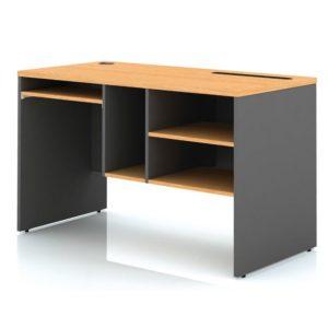 โต๊ะคอมพิวเตอร์ สีบีช-เทาดำ เฟอร์ราเดค SCPT120(R)