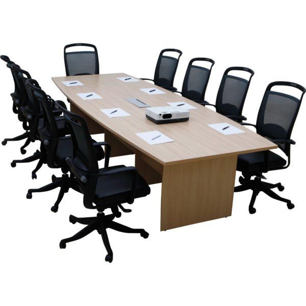 โต๊ะประชุม สีบีช เฟอร์ราเดค Meeting Set1