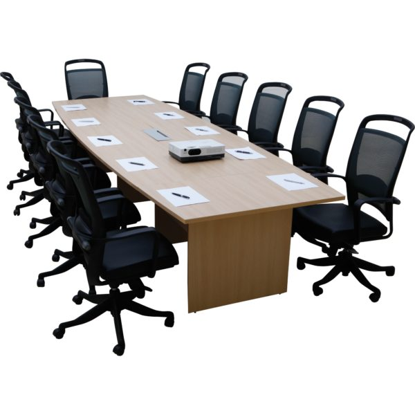 โต๊ะประชุม สีบีช เฟอร์ราเดค Meeting Set2