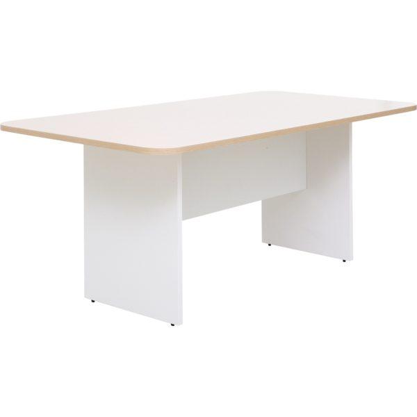 โต๊ะประชุม 4-6 ที่นั่ง สีโอ๊คอ่อน-ขาว เฟอร์ราเดค MMT1890