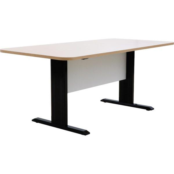 โต๊ะประชุม 4-6 ที่นั่ง สีโอ๊คอ่อน-ขาว เฟอร์ราเดค MTK1890