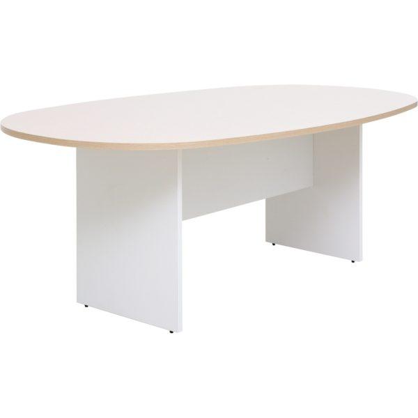 โต๊ะประชุม 4-6 ที่นั่ง สีโอ๊คอ่อน-ขาว เฟอร์ราเดค EMT2011