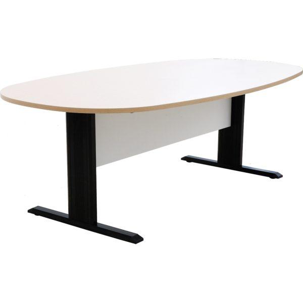 โต๊ะประชุม 6-8 ที่นั่ง สีโอ๊คอ่อน-ขาว เฟอร์ราเดค EMK2212