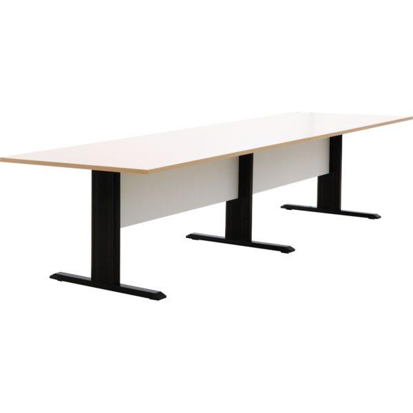 โต๊ะประชุม 8-10 ที่นั่ง สีโอ๊คอ่อน-ขาว เฟอร์ราเดค MTK3200