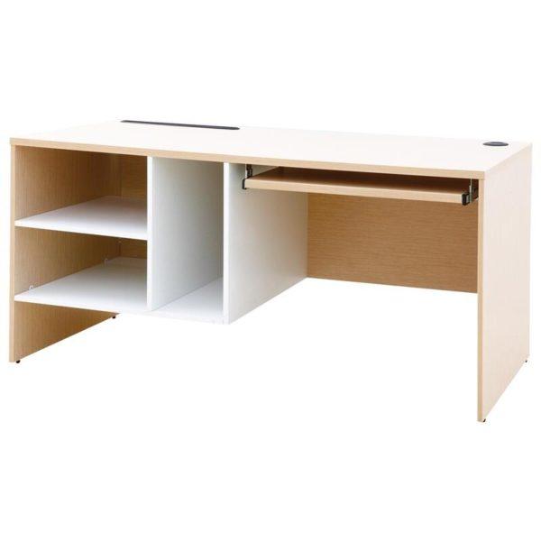 โต๊ะคอมพิวเตอร์ สีบีช-ขาว เฟอร์ราเดค CPD150F