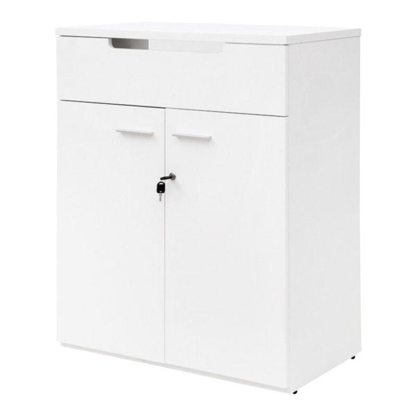 ตู้บานเปิด สีขาว เฟอร์ราเดค SC108E
