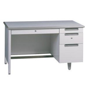 โต๊ะทำงานเหล็ก 4 ฟุต สีเทา เฟอร์ราเดค MT-2648
