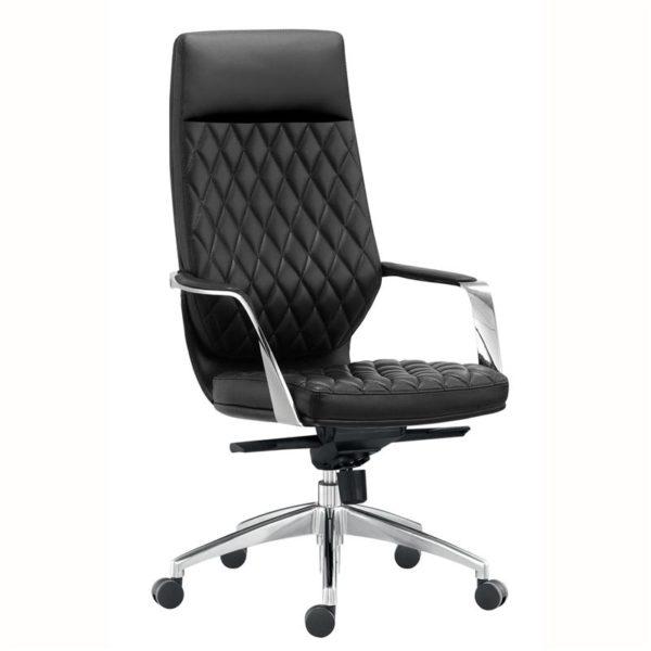 เก้าอี้ผู้บริหาร สีดำ Sure PL-525H