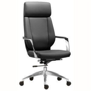 เก้าอี้ผู้บริหาร สีดำ Sure PL-522H