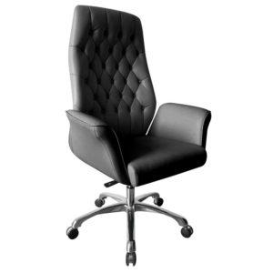 เก้าอี้ผู้บริหารหนัง ดำ Sure PL-529