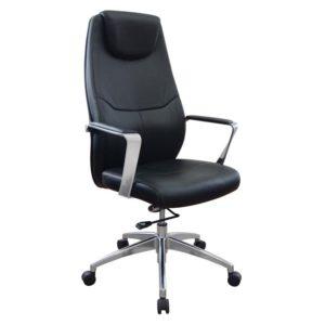 เก้าอี้ผู้บริหารหนังแท้ ดำ Sure PL-523