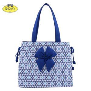 NaRaYa กระเป๋าสะพายทรงสี่เหลี่ยม Geometric Printed