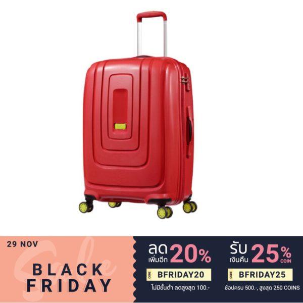 AMERICAN TOURISTER กระเป๋าเดินทางล้อลาก(29นิ้ว) รุ่น LIGHTRAX SPINNER 7929 TSA สี ENERGETIC RED