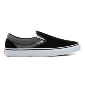 VANS Slip-On (Suede) - SuitingBlack