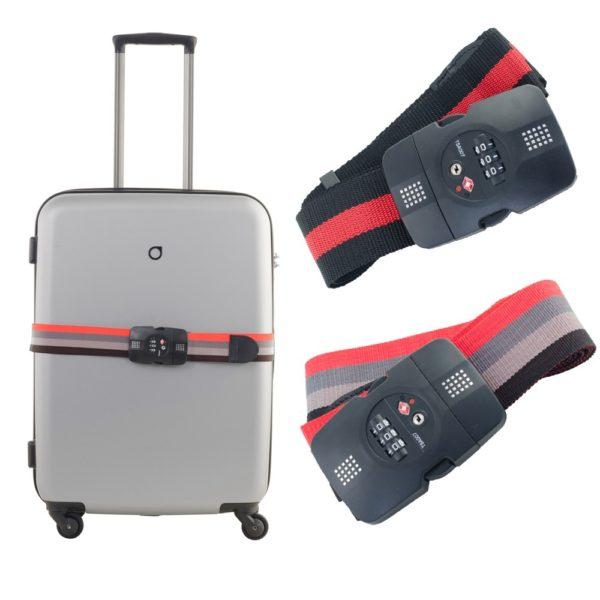 CAGGIONI สายรัดกระเป๋าเดินทางระบบ TSA Lock (TSA - Lock Strap)