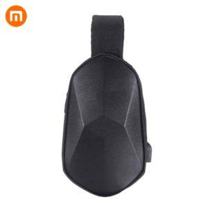 Xiaomi beaborn Polyhedron กระเป๋าเป้สะพายหลังผ้าหนังเทียมกันน้ำ