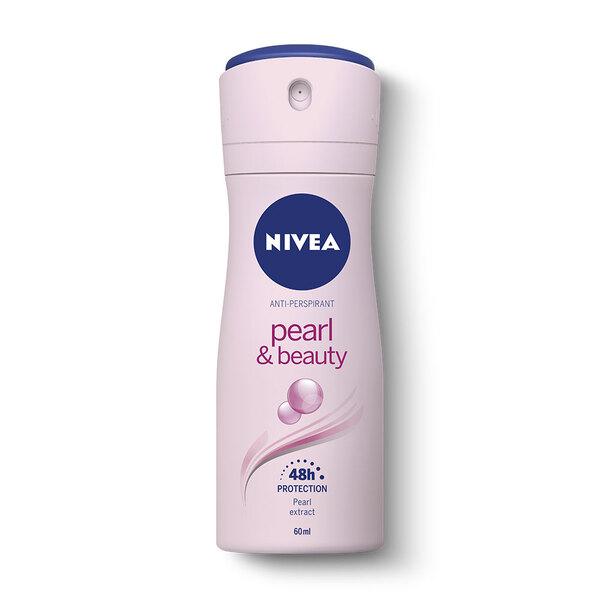 NIVEA Deo Pearl and Beauty Spray 60ml