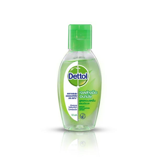 เจลแอลกอฮอล์ Dettol Instant Hand Sanitizer 50ml