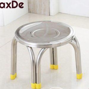 MaxDe เก้าอี้สแตนเลส