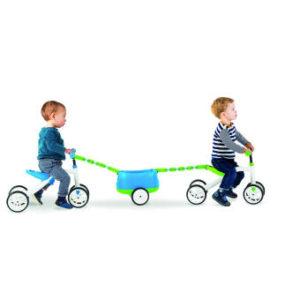 จักรยานขาไถ 4 ล้อ - สีเขียว