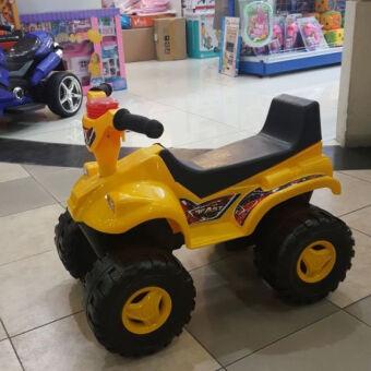 รถ ATV ขาไถ สีเหลือง