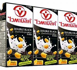 ไวตามิลค์ ทูโกอินแบลค นมถั่วเหลือง สูตรธัญพืช 300 มล. แพ็ค 3