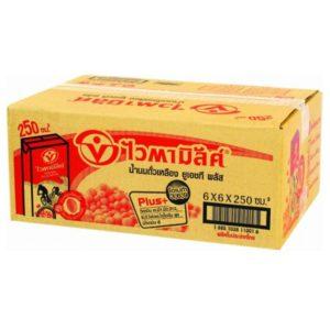 ไวตามิ้ลค์ นมถั่วเหลือง ยูเอชที สูตรออริจินัล 250 มล. แพ็ค 36