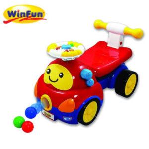 Winfun รถขาไถ Walker Ride On Popping Car