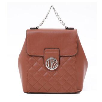 กระเป๋าเป้ GUESS BAG VY736630 รุ่นPLUSH BACKPACK สีน้ำตาล
