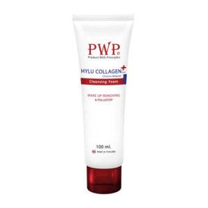 PWPโฟมล้างหน้า Hylu Collagen Plus Chrono Reeboot 100 มล.