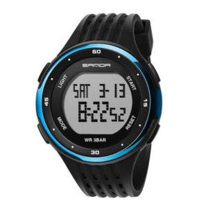 SANDA นาฬิกาข้อมือรุ่น SW338-BKBL - BKBL