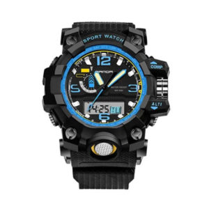 SANDA นาฬิกาข้อมือรุ่น SW732-BKBL - BKBL