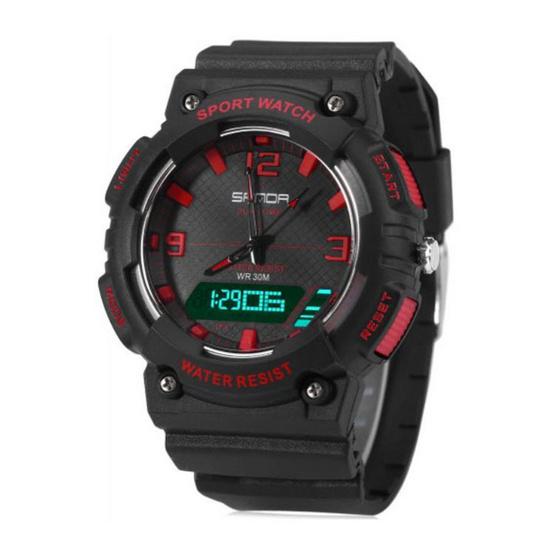 SANDA นาฬิกาข้อมือรุ่น SW734-BKRE - BKRE