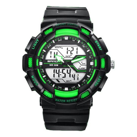 SANDA นาฬิกาข้อมือรุ่น SW736-BKGR - BKGR