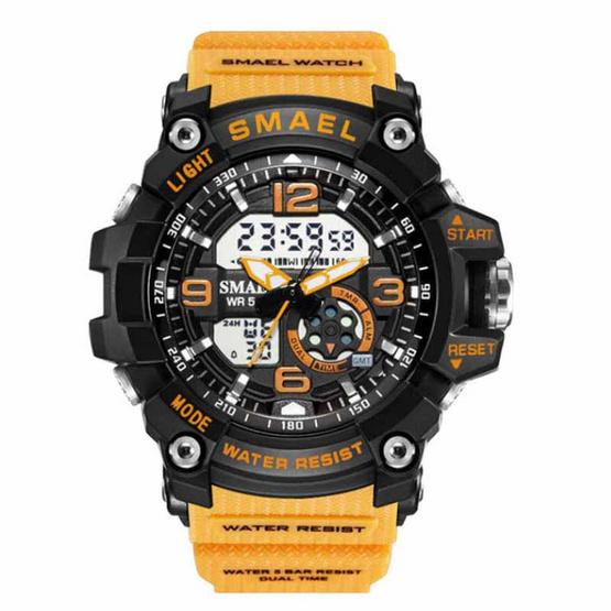 SMAEL นาฬิกาข้อมือรุ่น SM1808-YE - YE