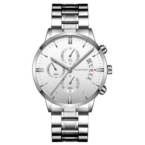 VA VA VOOM นาฬิกาข้อมือรุ่น VAG001-SIWH - SIWH