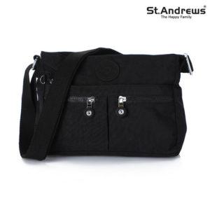 St.Andrews กระเป๋าสะพาย cross body รุ่น 2051 - ( สีดำ ) - Black
