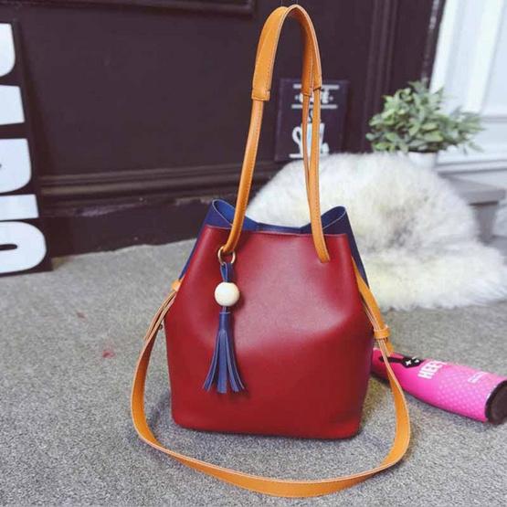 Fancybag กระเป๋าสะพาย Shoulder Bags กระเป๋าถือใส่ของ 2 Tone