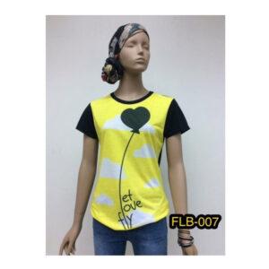 FQ&L เสื้อยืดพิมพ์ลาย