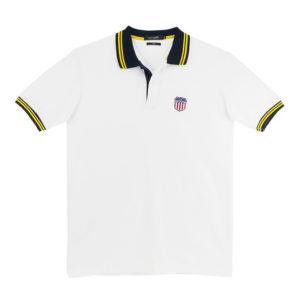 GETAWAY เสื้อโปโลแขนสั้น CK8A1WH สีขาว